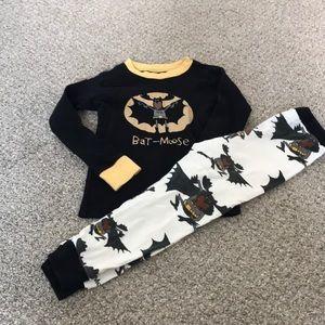 Bat-Moose Toddler Pjs